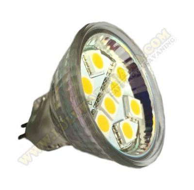 Led MR-11 8SMD CW (blanco día)