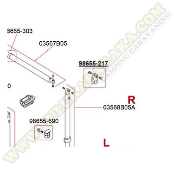 98655-217. Kit parte final Caravanstore 05