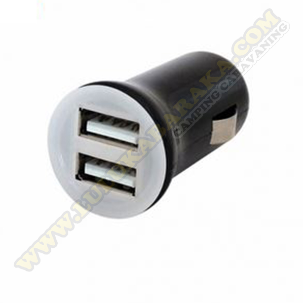 Conector Mechero USB 2x2,1amp
