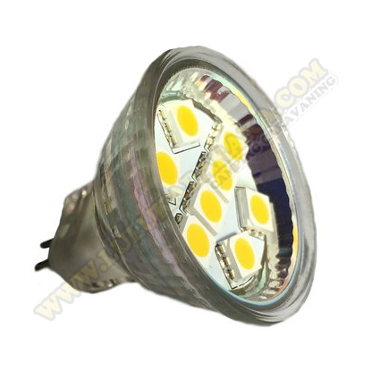 Led MR-11 8SMD WW (blanco cálido)