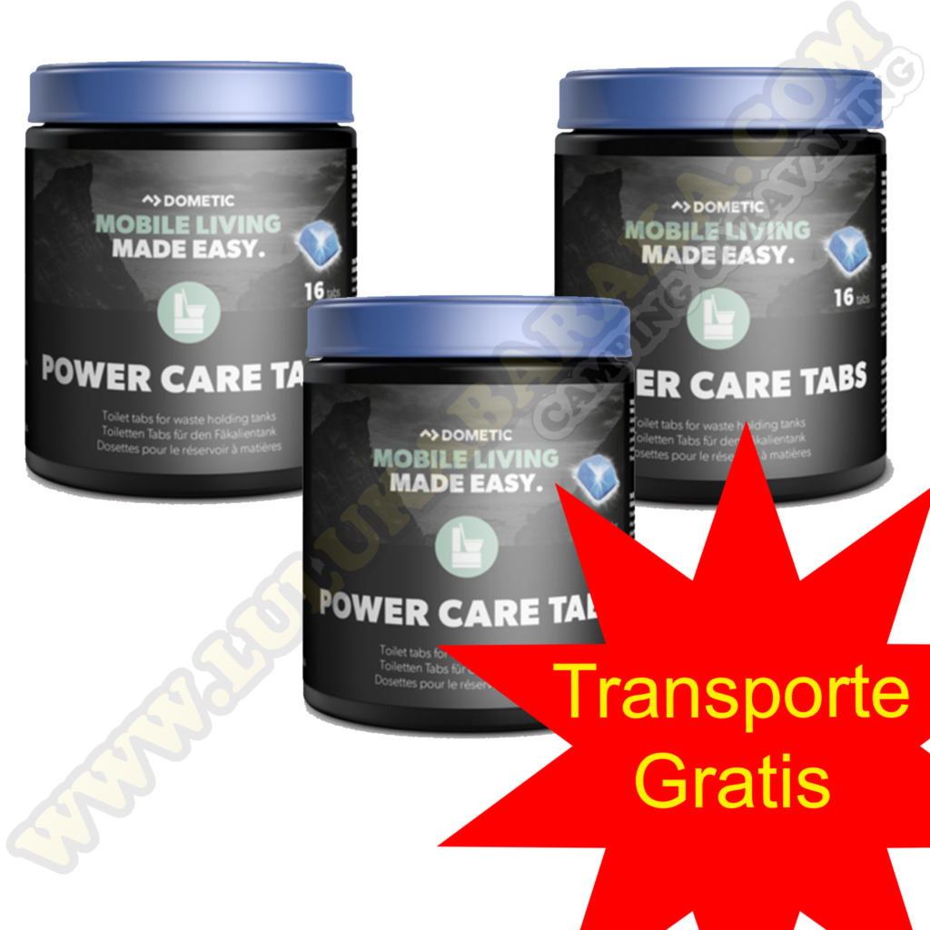 Power Care Tabs pastillas Pack de 3 (transporte gratuito)